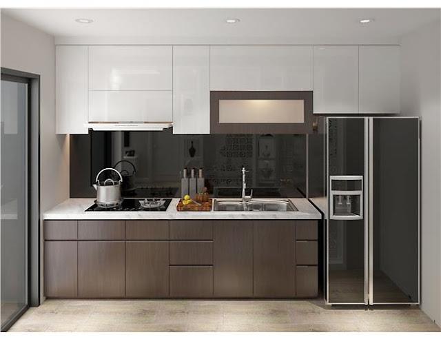 Thiết kế căn bếp gọn gàng tiện nghi