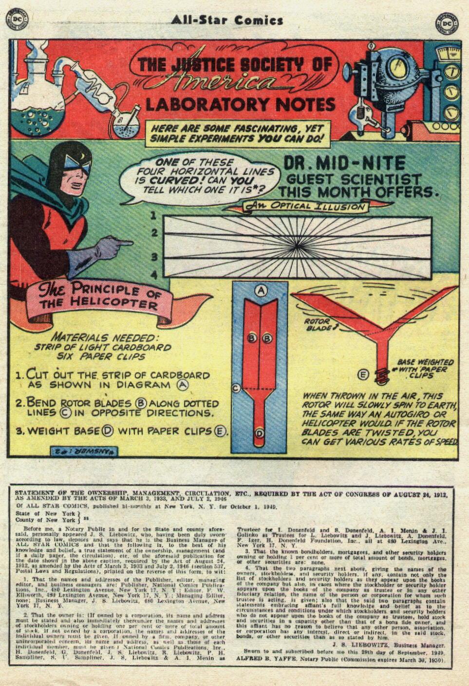 Read online All-Star Comics comic -  Issue #51 - 40