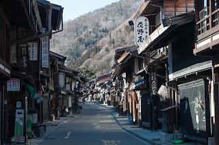 奈良井宿街道