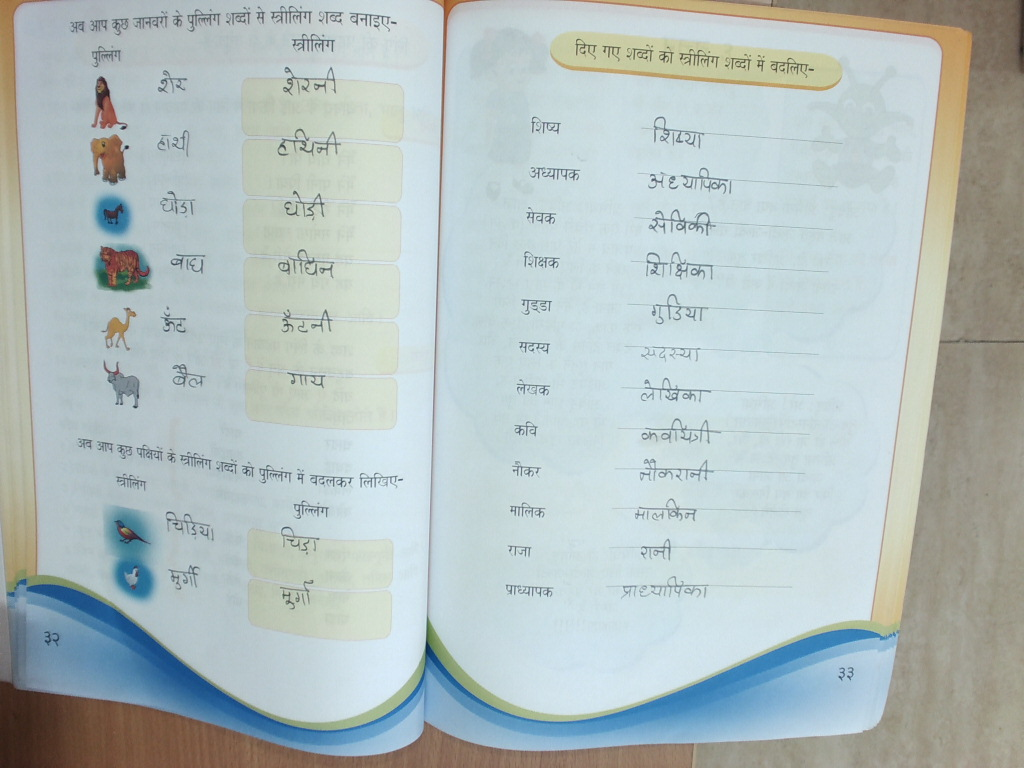 Workbooks » Worksheets For Hindi Grammar - Free Printable Worksheets ...