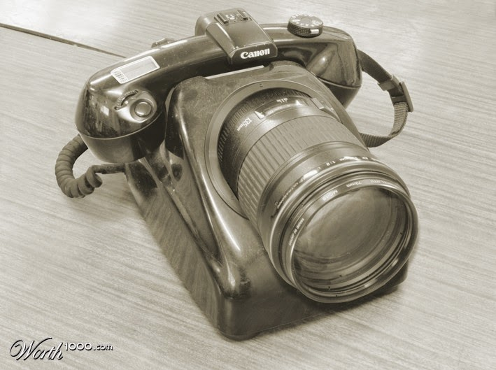 06-Camera-Phone-worth1000-Modern-&-Vintage-Technology-www-designstack-co
