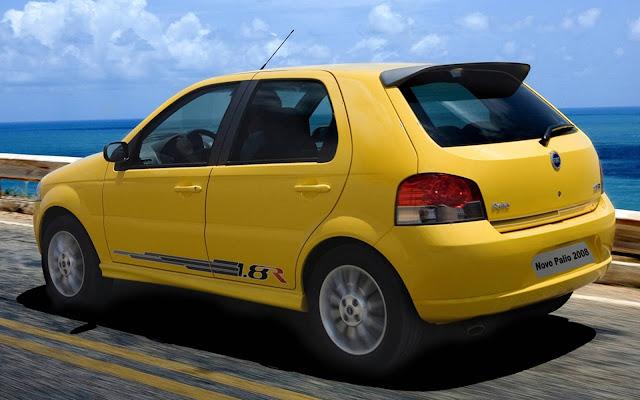 Fiat Palio - 2º carro usado mais vendido