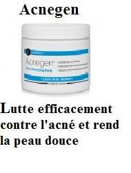 Lutte efficacement contre l'acné