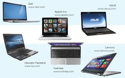 Daftar Urutan Laptop Paling Populer di Dunia