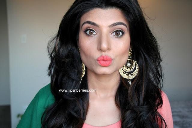 Indian makeup blogger in nz Lipsnberries
