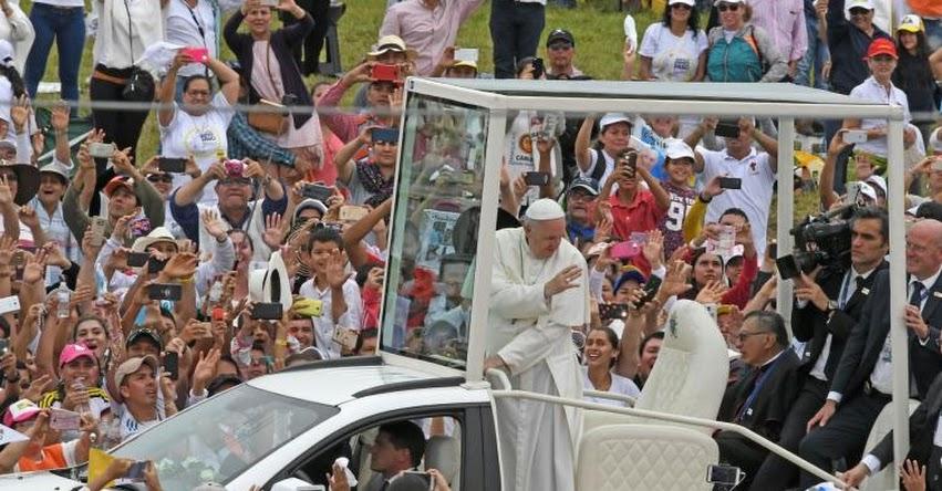 PAPA FRANCISCO EN PERÚ: En 15 días se definiría lugar donde dará misa en Lima