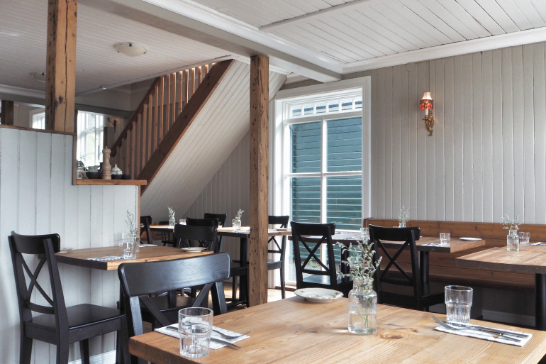 Restaurant Edduveröld à Borgarnes en Islande