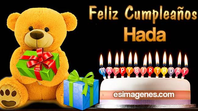 Feliz cumpleaños Hada