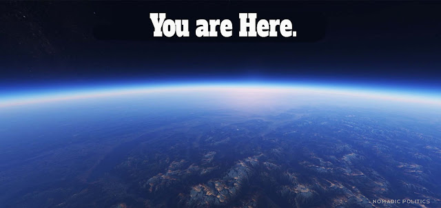 You are Here Earth