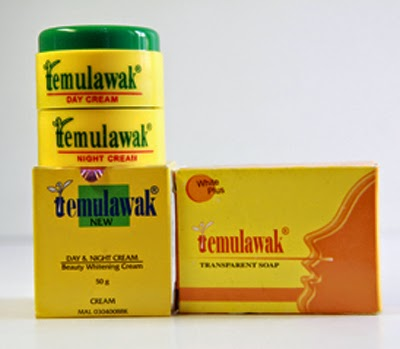 Paket 3IN1 Cream Temulawak Malaysia Original Pemutih Wajah