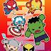 Super Héroes Marvel en Versión Chibi.