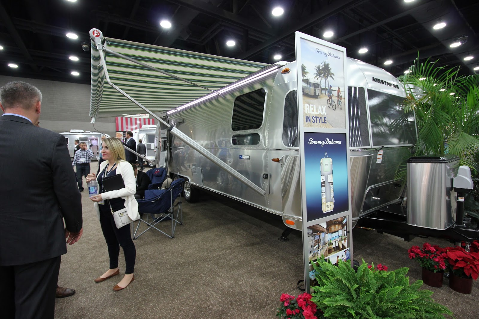 Airstream Partners with Tommy Bahama for Special Edition