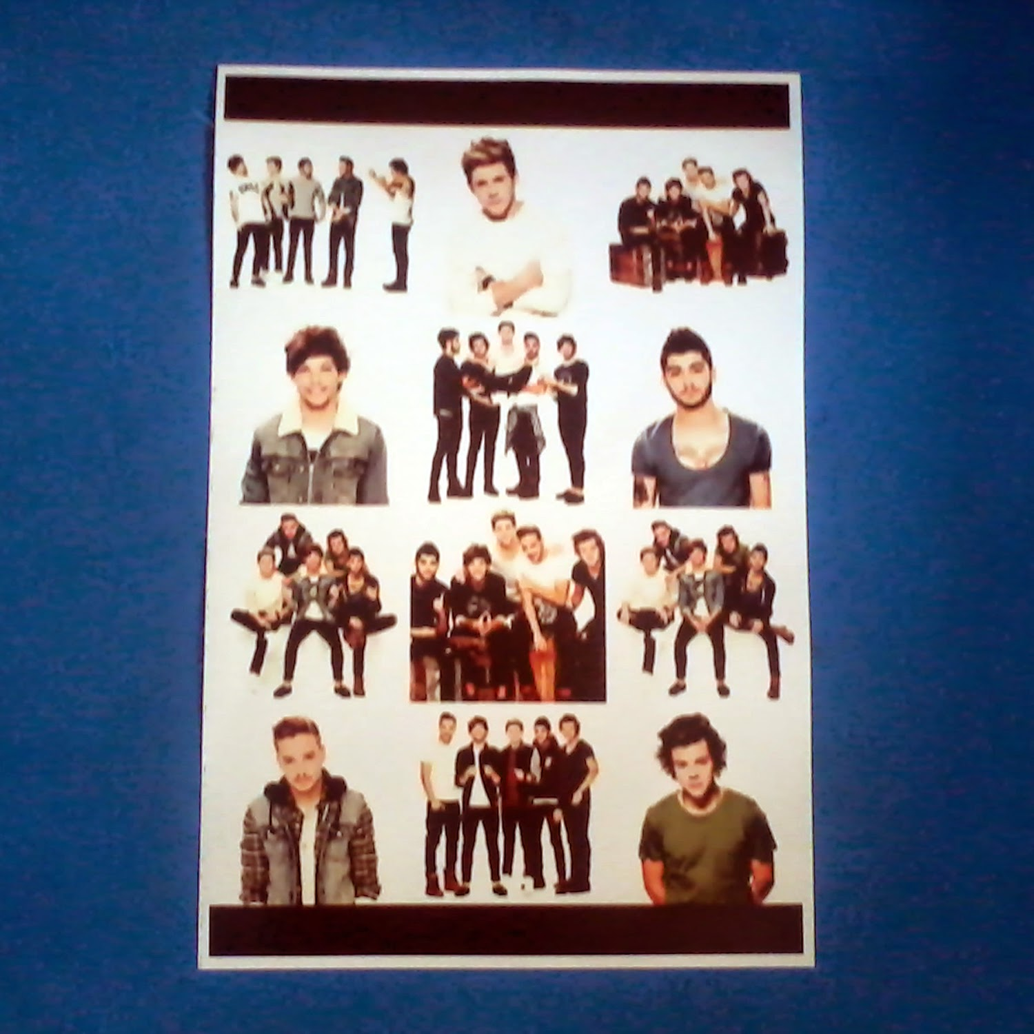 jual Poster A3 Boyband One Direction Murah