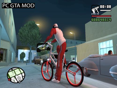 Free Download Wind Solar MT Bike Mod for GTA San Andreas.