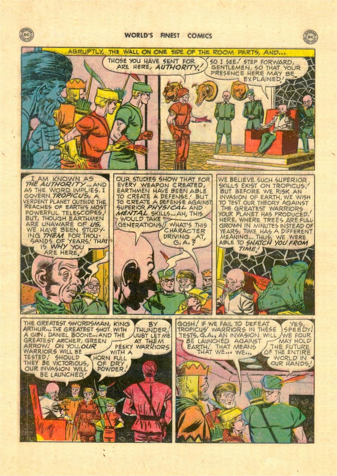 Read online World's Finest Comics comic -  Issue #52 - 46