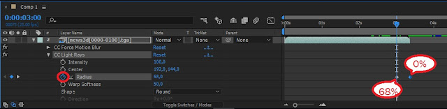 Cara Membuat  Opening Channel Youtube dengan Animasi 3D di After Effect