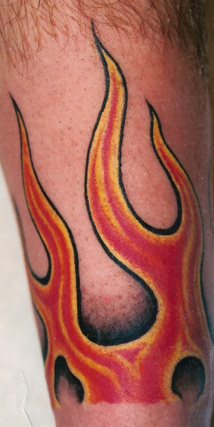 1887Tattoos: Amazing Fire Flame Tattoo Designs
