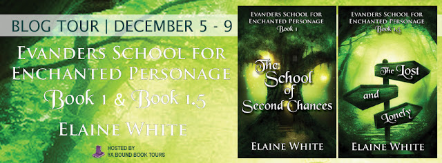 The School of Second Chances & The Lost and Lonely (Evanders School for Enchanted Personage #1 & 1.5) by Elaine White!