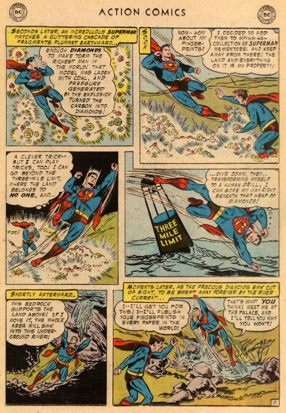 Read online Action Comics (1938) comic -  Issue #233 - 13
