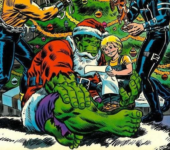 Marvel Christmas.Merry Christmas And Happy Holidays
