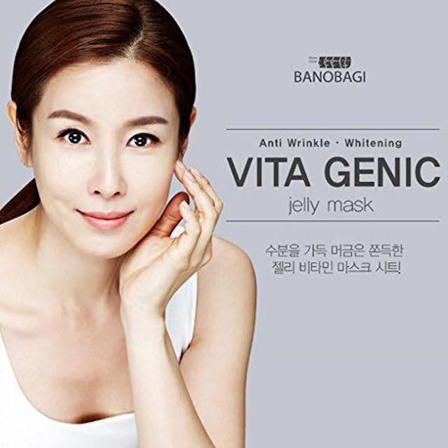 Review Banobagi Vita Genic Jelly Mask cơn sốt mặt nạ từ Hàn Quốc, Banobagi Vita Genic Jelly Mask, banobagi vita, mặt nạ dưỡng da, mặt nạ hàn quốc
