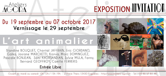 Expo collective : L'art animalier