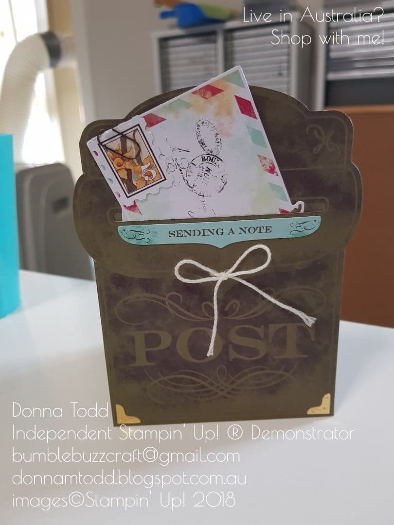 Donna Todd Independent Stampin' Up! Demonstrator