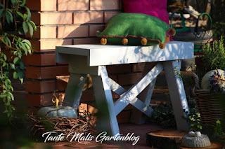 Gartenbank selber machen