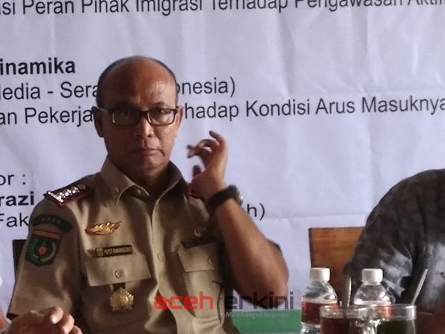 Minim Pengawas, Tenaga Kerja Asing di Aceh Tidak Terpantau