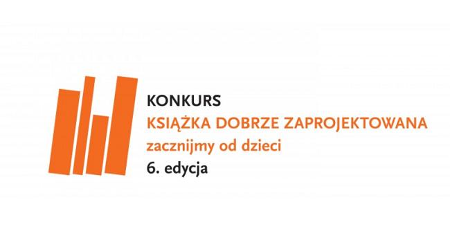 Logo konkursu Książka dobrze zaprojektowana