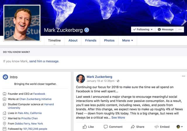كيف تضيف وتحصل على علامة التحقق الزرقاء لصفحتك فيس بوك ؟