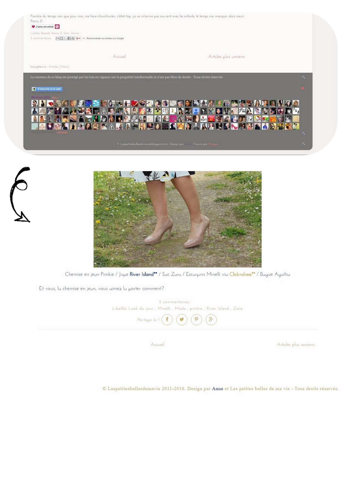 nouveau design de blog