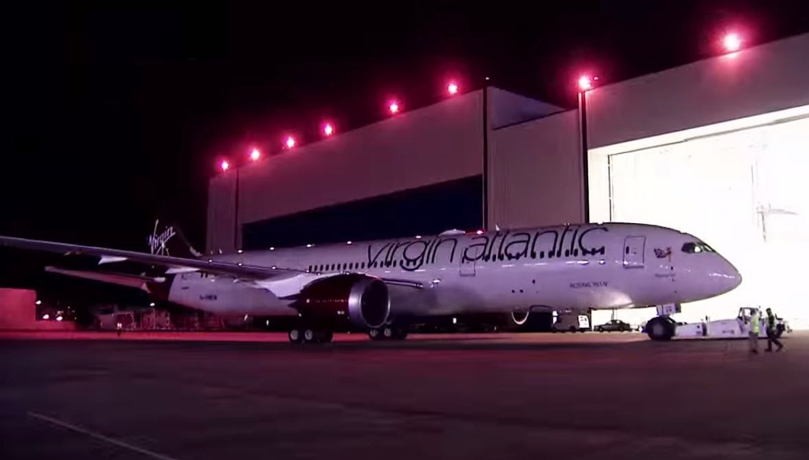 Boenig 787-9 Dreamliner Virgin Atlantic
