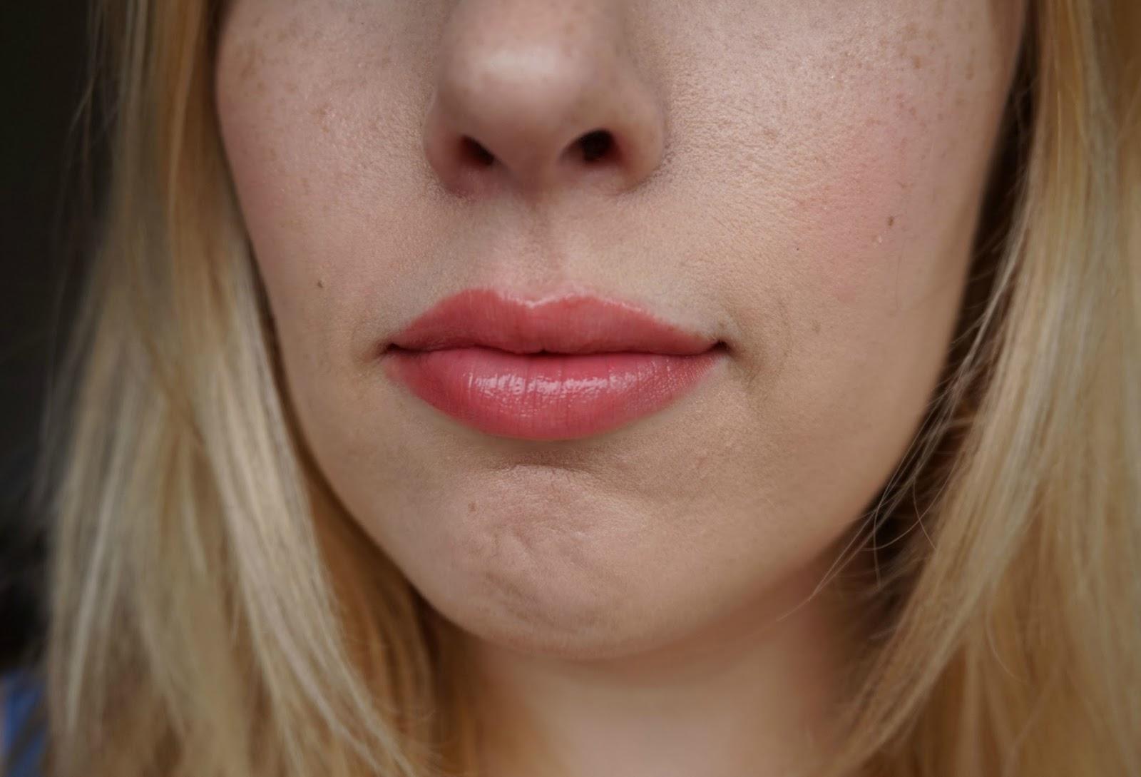 Dior Addict Milky Tint 376 Milky Pop lip swatch review