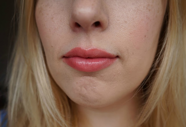 Dior Addict Milky Tint 376 Milky Pop lip swatch review