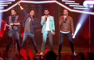 Juan Antonio, Ricky, Javián y Alex: Corazón Espinado | OT 2017 Gala Navidad