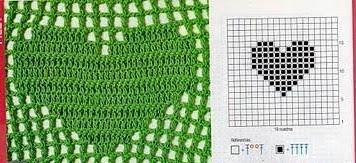 Punto de red a Crochet