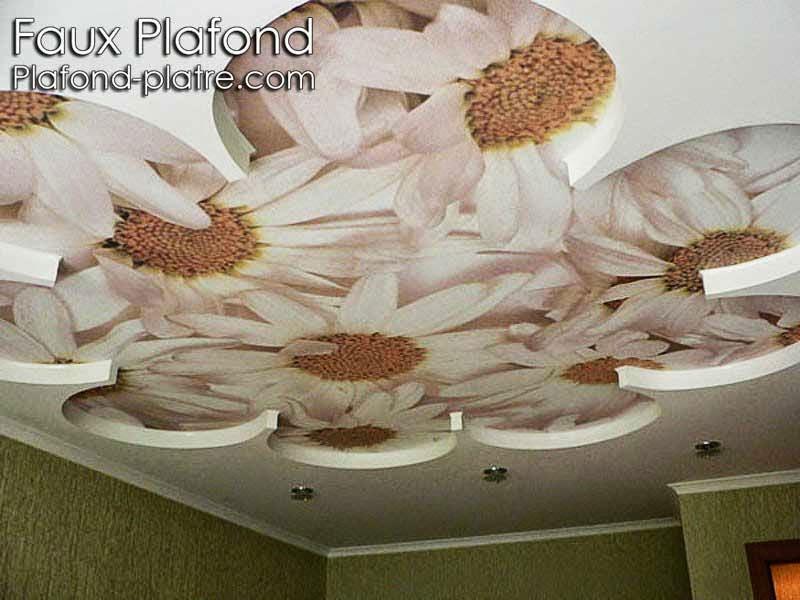 d cor faux plafond de la chambre coucher faux plafond design. Black Bedroom Furniture Sets. Home Design Ideas