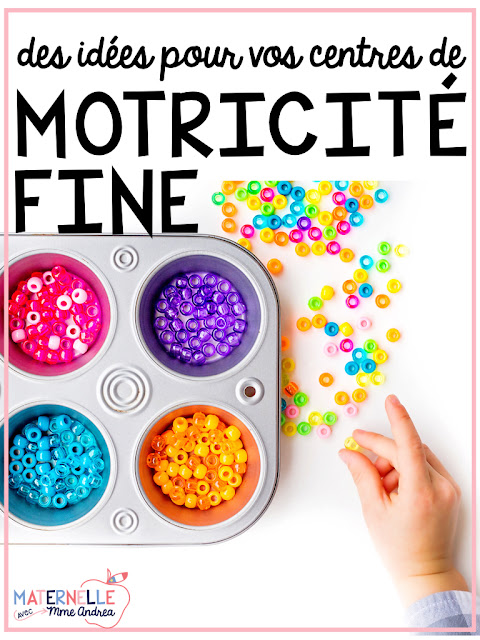 Fine motor centres are my favourites - and my students' favourites, too! Children NEED to participate in activities that help develop their little finger muscles if we want them to be able to cut, colour, and (most importantly!) write neatly and efficiently. Centres are a great time to fit in those kinds of activities. Check out this blog post full of great ideas!