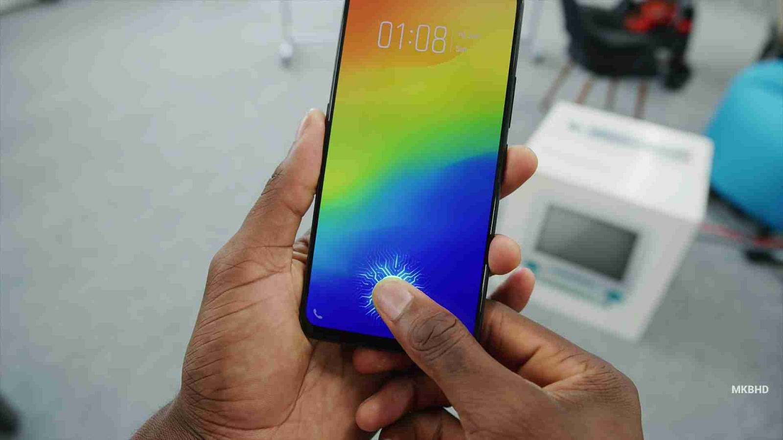 The Vivo Nex S Smart Phone