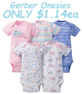 abfe43397 Extreme Couponing Mommy: HOT DEAL on Gerber Baby Apparel at Target