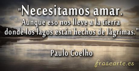 Citas para amar Paulo Coelho