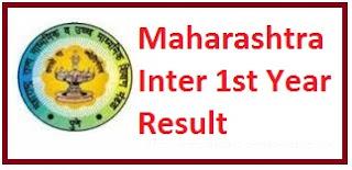 Maharashtra Inter 1st Year Result 2017