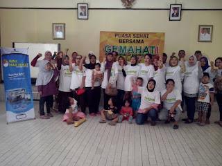 Cek Kesehatan Gratis Warga Kel. Tugu bersama GEMAHATI & SUSU HAJI SEHAT, 23 Mei 2017 di Kota Depok, Jawa Barat