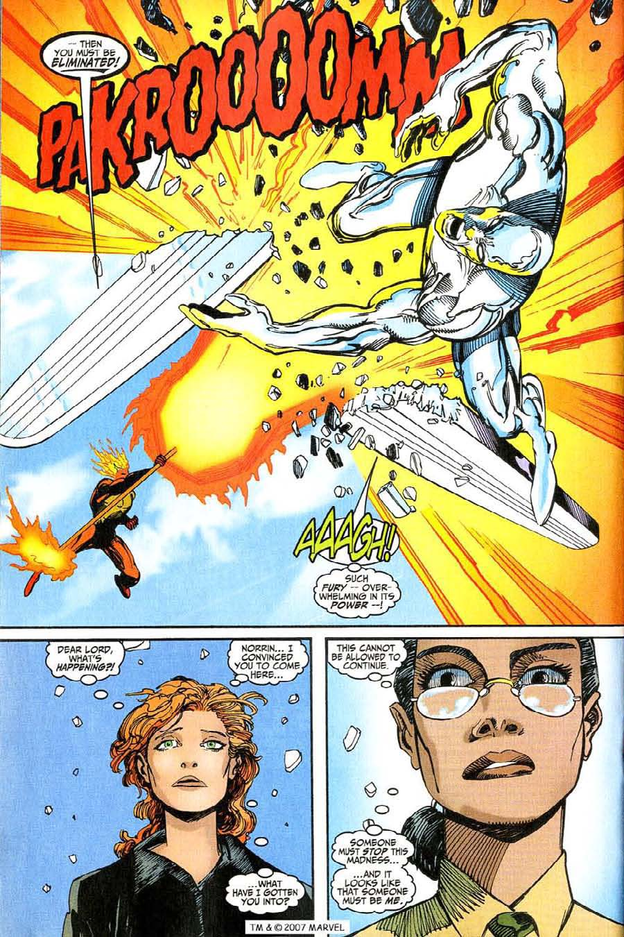 Read online Silver Surfer (1987) comic -  Issue #146 - 26