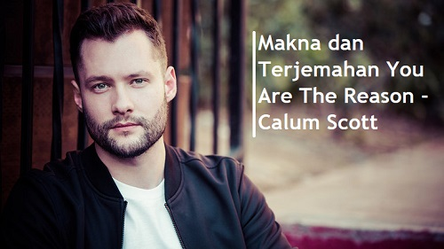 Makna dan Terjemahan You Are The Reason - Calum Scott