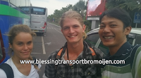 Emily and Matthias (AU), transport from Surabaya Airport to Mount Bromo 2D1N. December 14th to 15th, 2016