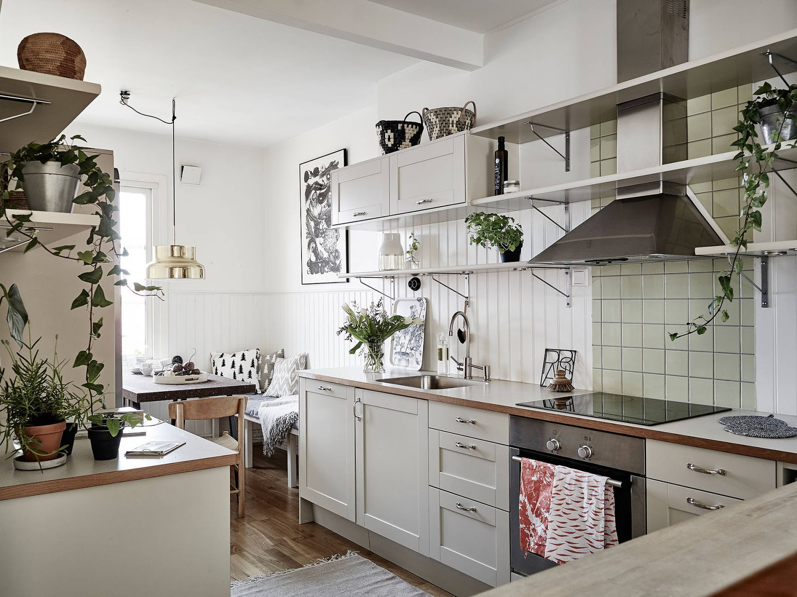 kuchnia w stylu skandynawskim, jak urządzić kuchnie w stylu skandynawskim