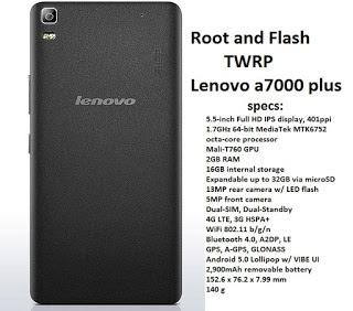 Lenovo A7000 Plus - huong dan root và cai CWM recovery