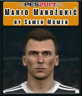 PES 2017 Faces Mario Mandžukić by Sameh Momen
